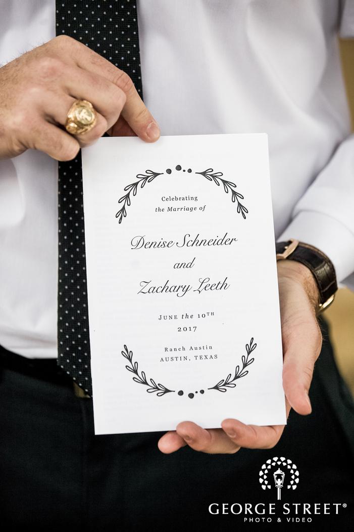 nice wedding card wedding photo