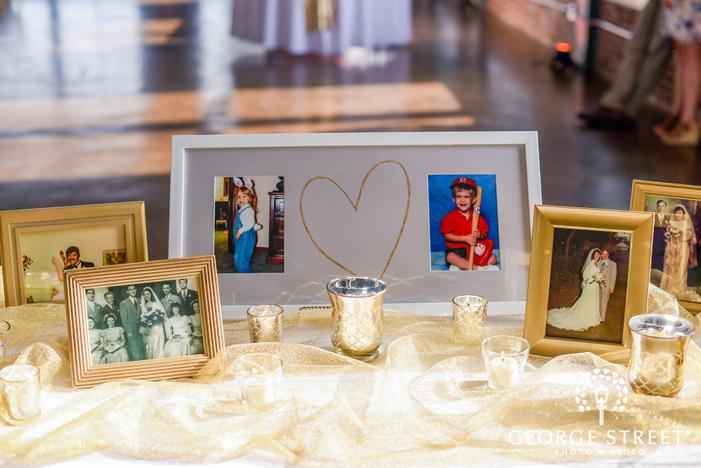 adorable wedding hall details wedding photos