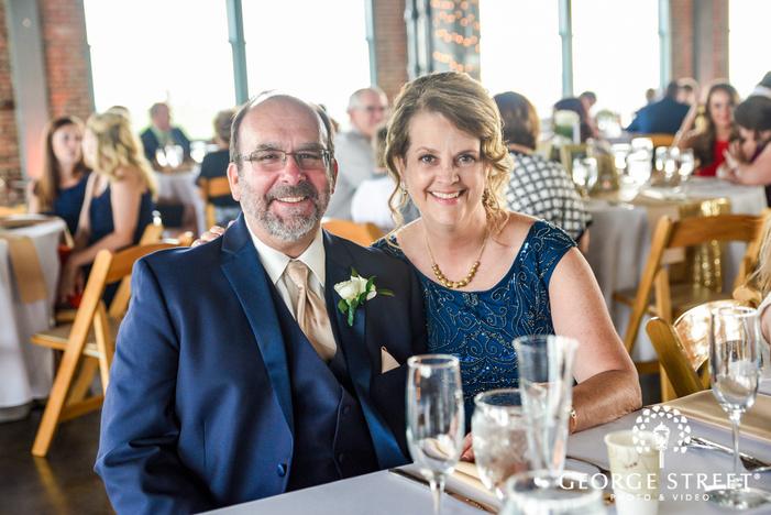 happy parents at NEO on locust  LLC in st louis