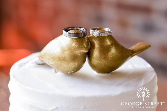 nice couple wedding rings wedding photo