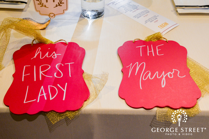 classic couple chair labels wedding photo