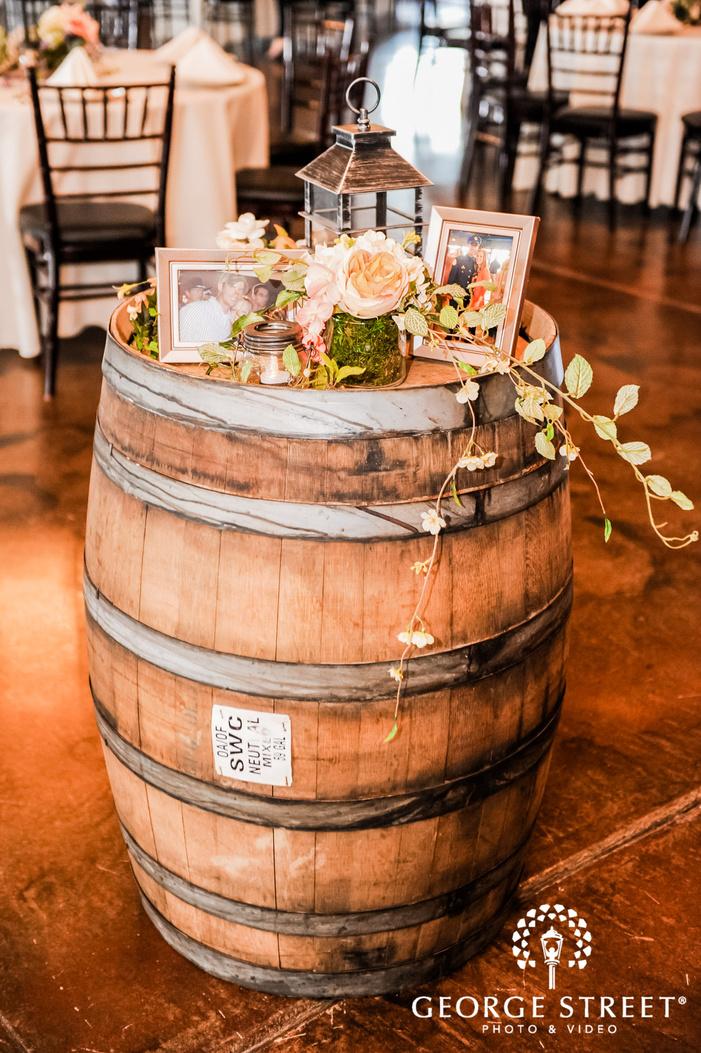 decent wedding reception detail