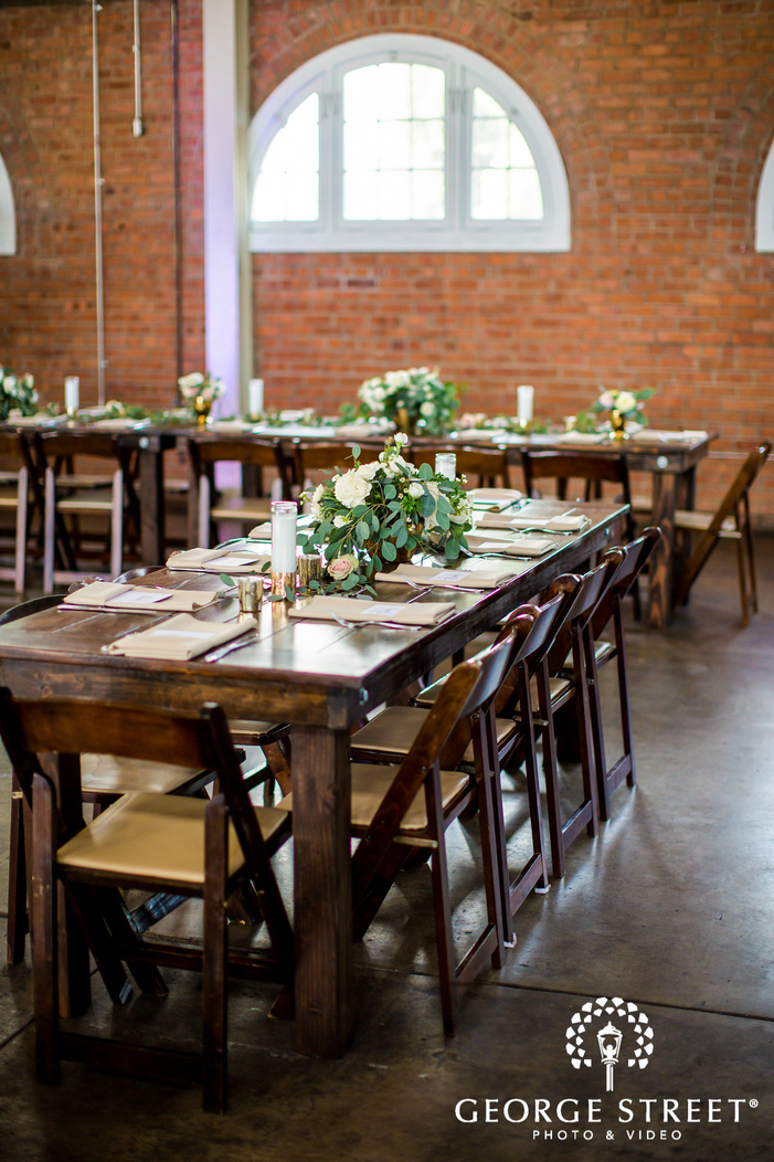 elegant table decor details wedding photos