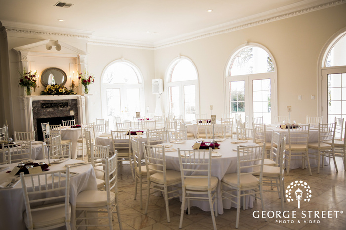 appealing reception hall setting wedding photography