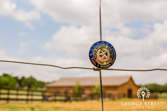 cute wedding details at king river ranch in austin wedding photo