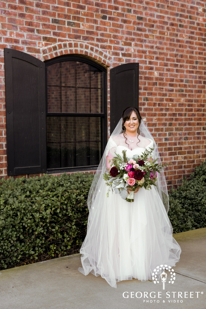 beauriful bride at the nylo hotel in dallas