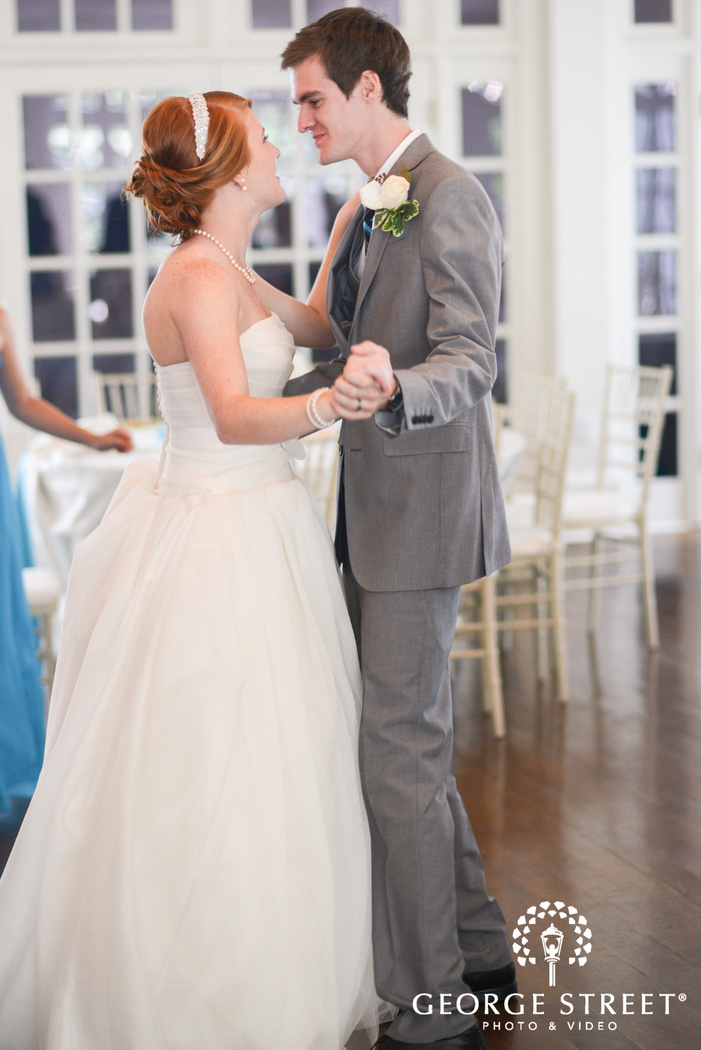 flint hill plantation atlanta wedding reception first dance