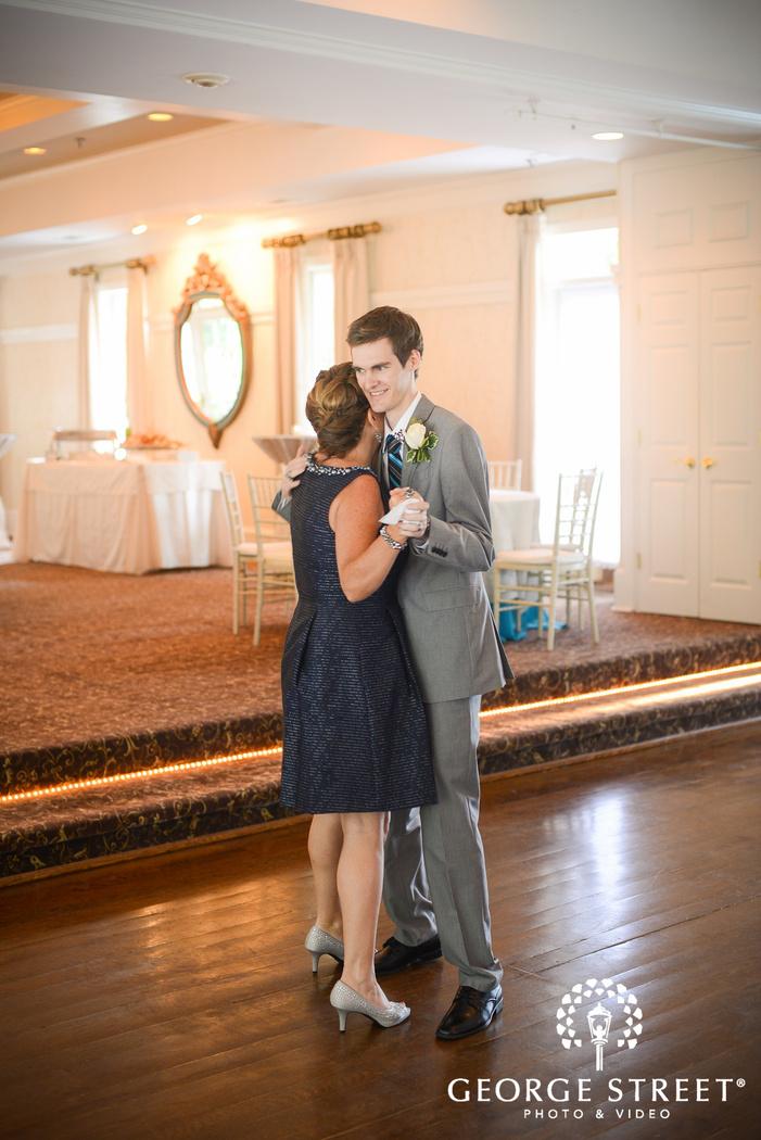 flint hill plantation atlanta wedding reception mother of the groom dance