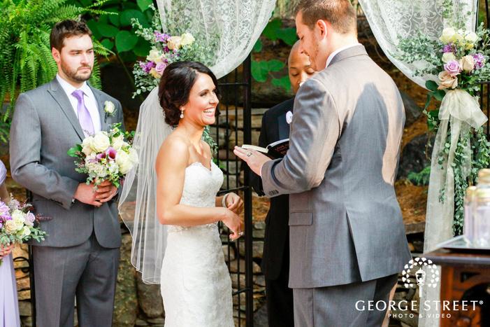 minneapolis wedding ceremony portraits