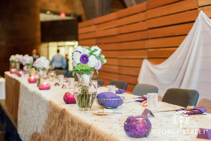 elegant vase wedding detail