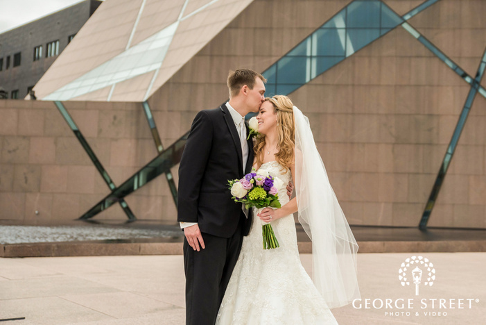 lovable bride and groom wedding photography
