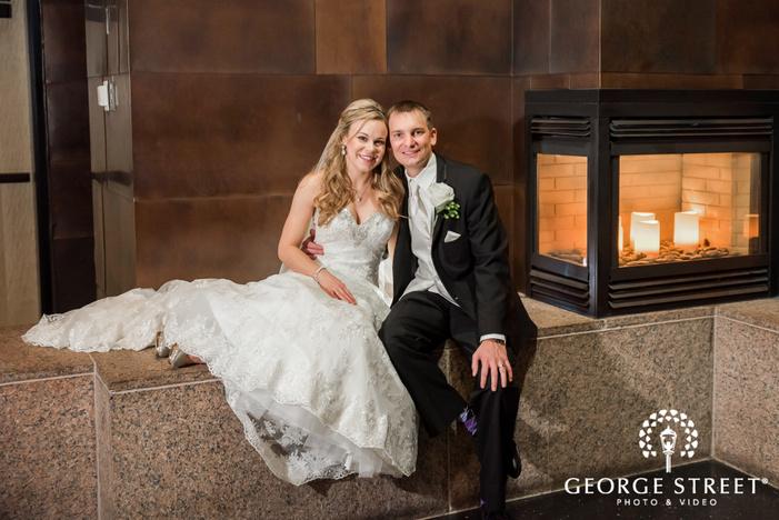 personable bride and groom wedding photography