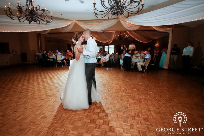 majestic oaks wedding reception dancing