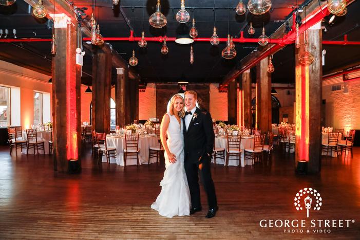 city wedding photos liberty warehouse new york