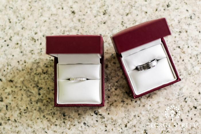 beautiful bride and groom wedding rings wedding photos