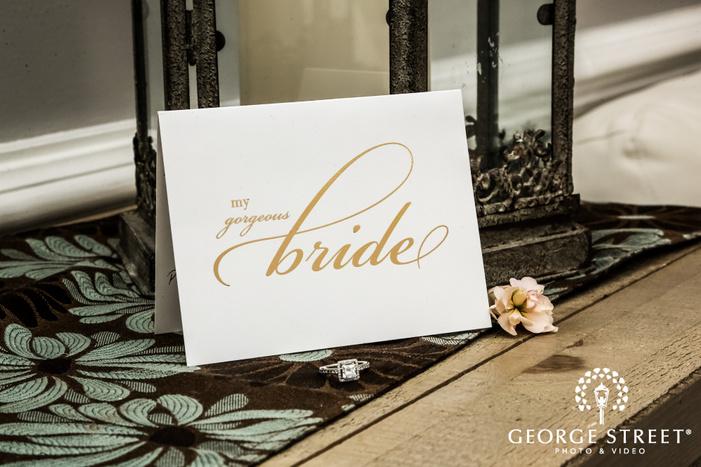 elegant bridal accessories in new york wedding photos