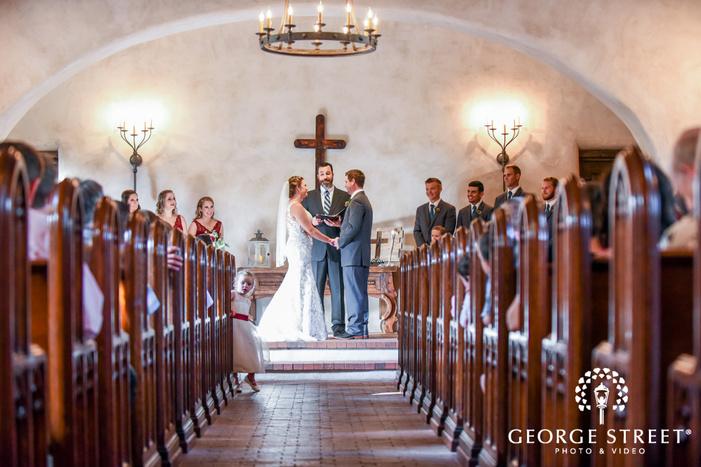 lost mission cute beautiful wedding ceremony san antonio wedding photos