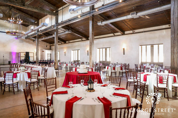 lost mission elegant reception table setting san antonio wedding photos