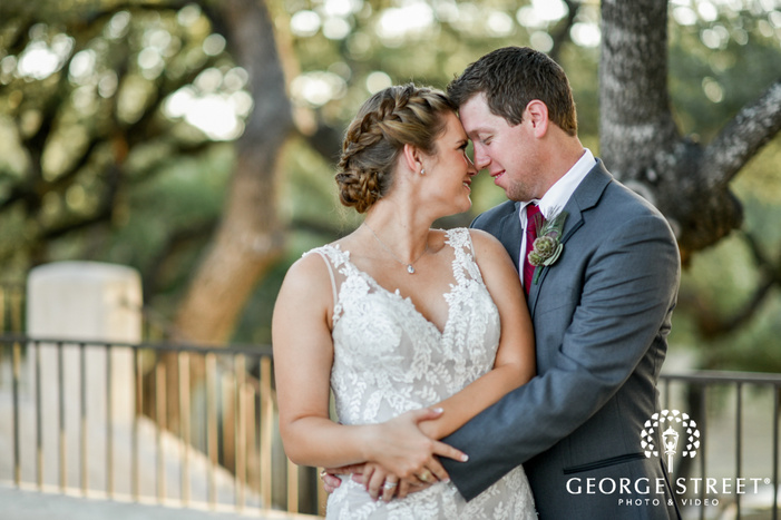 lost mission san antonio wedding photos adorable bride and groom