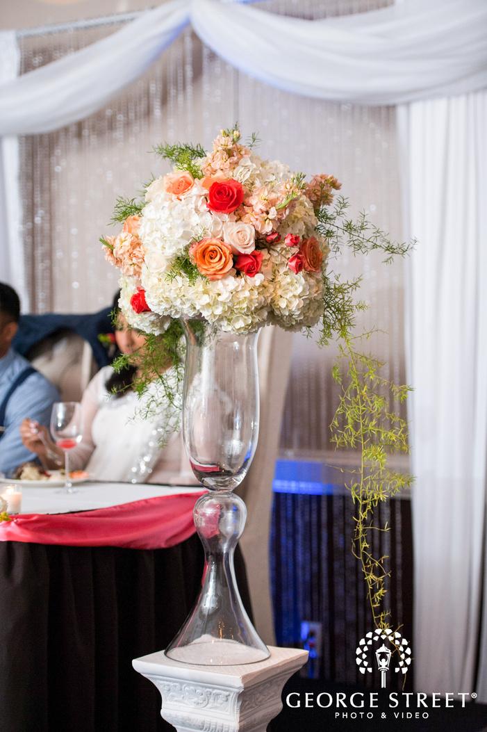 Piazza in the Village wedding reception