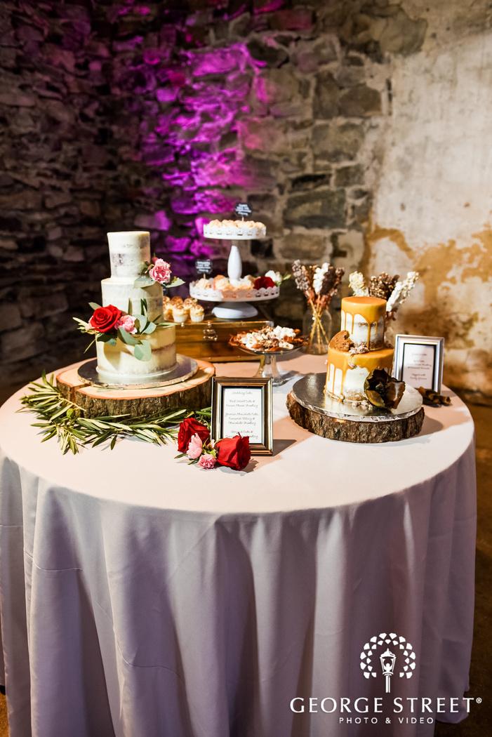 lovely wedding reception cake details wedding photo