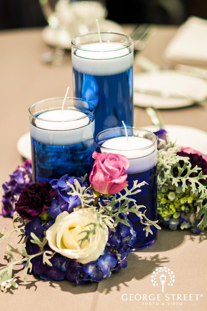 elegant table decor details wedding photo