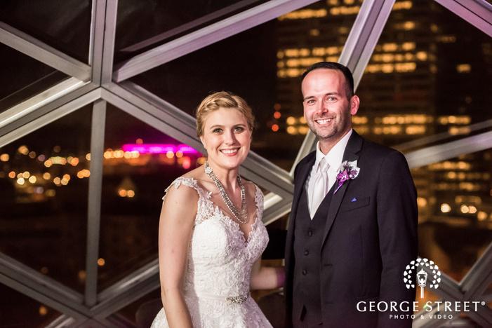 happy bride and groom in minneapolis wedding photography