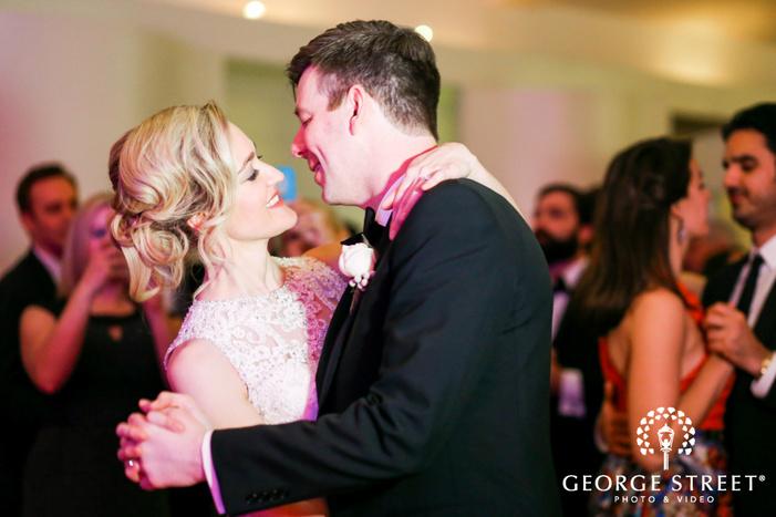 Battery Gardens wedding reception photography