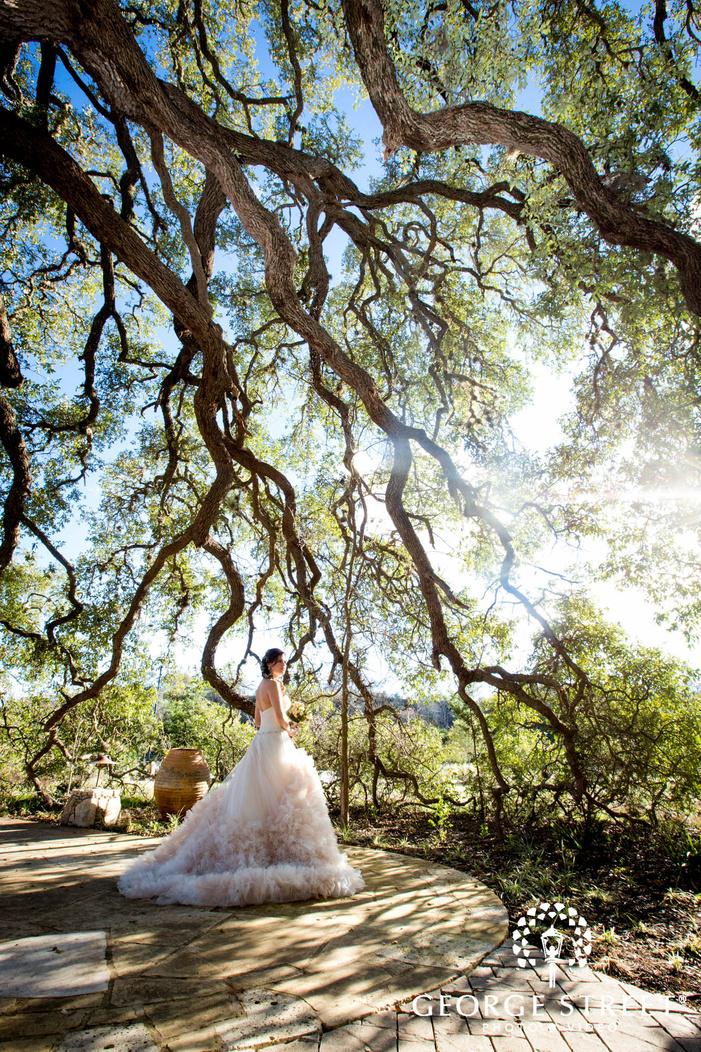 camp lucy austin wedding beautiful bridal portraits