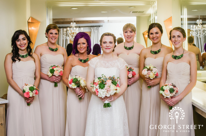 camp lucy austin wedding beautiful bridesmaid portraits