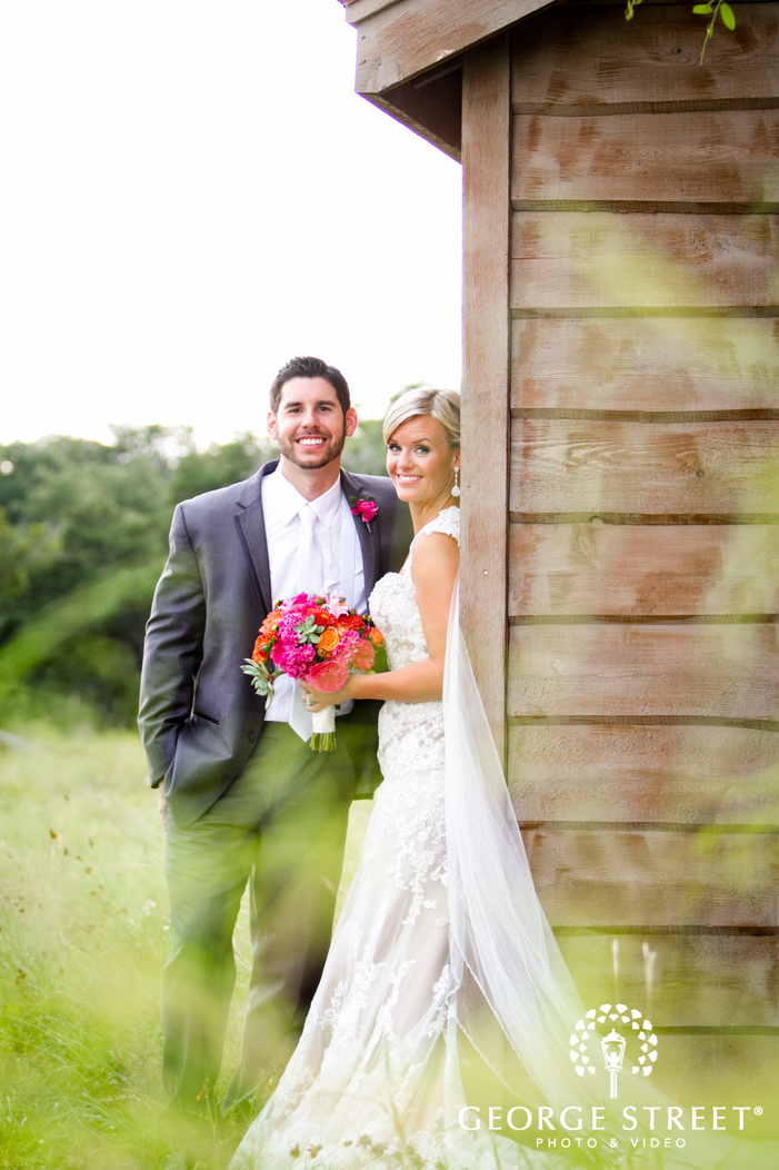 camp lucy austin wedding beautiful outdoor couple portraits