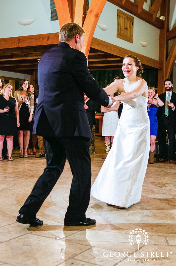 camp lucy austin wedding beautiful reception first dance