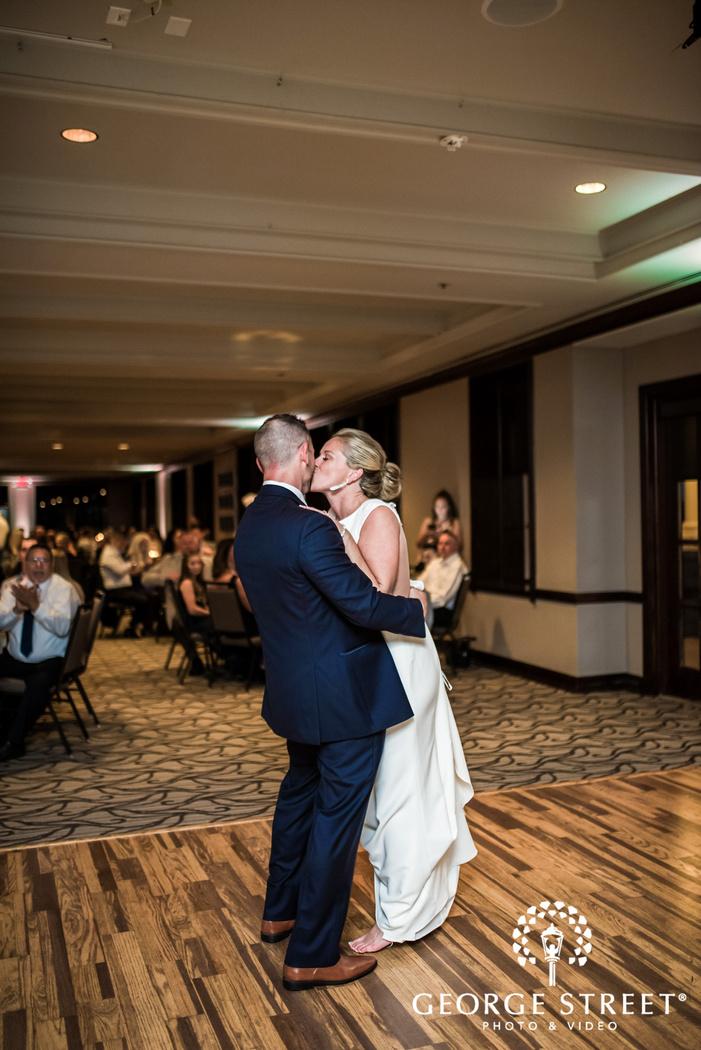 cute bride and groom reception dance wedding photography