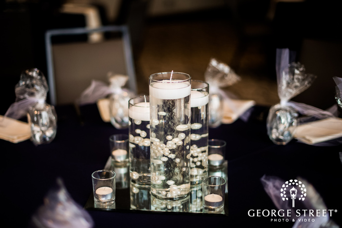 elegant wedding decor details wedding photo