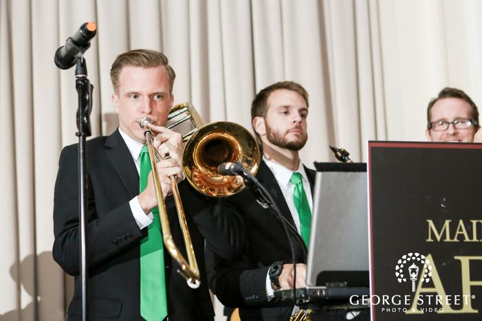 ballroom at the ben philadelphia indoor wedding reception band