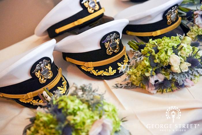 military groom wedding