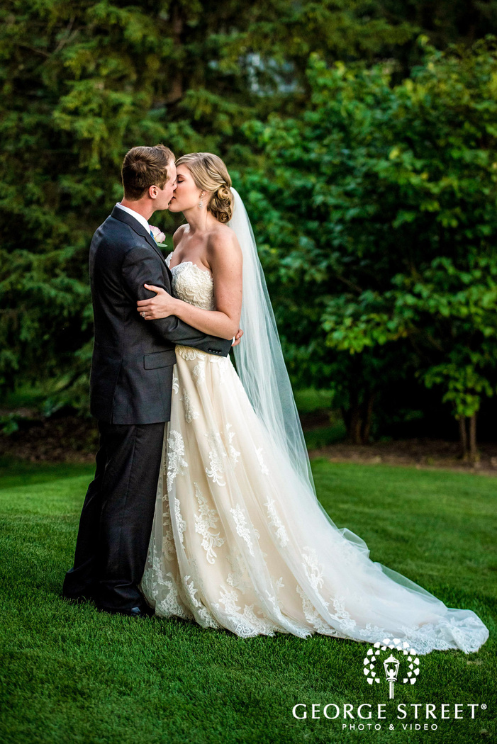 golden valley country club minneapolis loving couple moment in grassland wedding photos