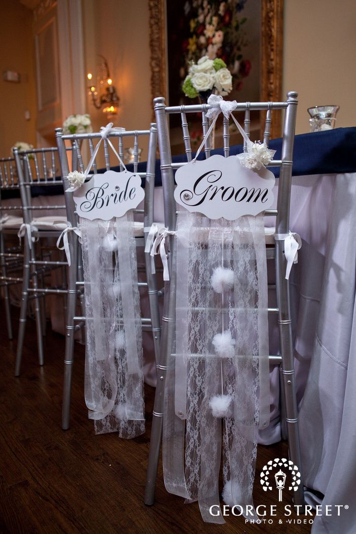 arlington Hall at Lee Park wedding indoor reception detials