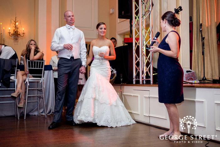 arlington Hall at Lee Park wedding reception