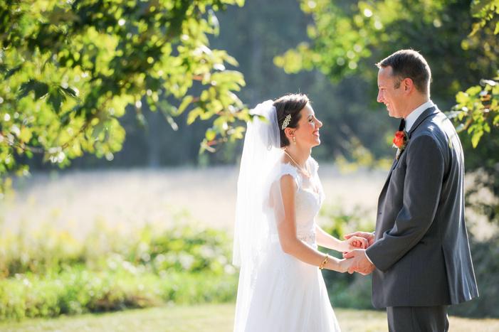 indianapolis wedding portraits outdoor