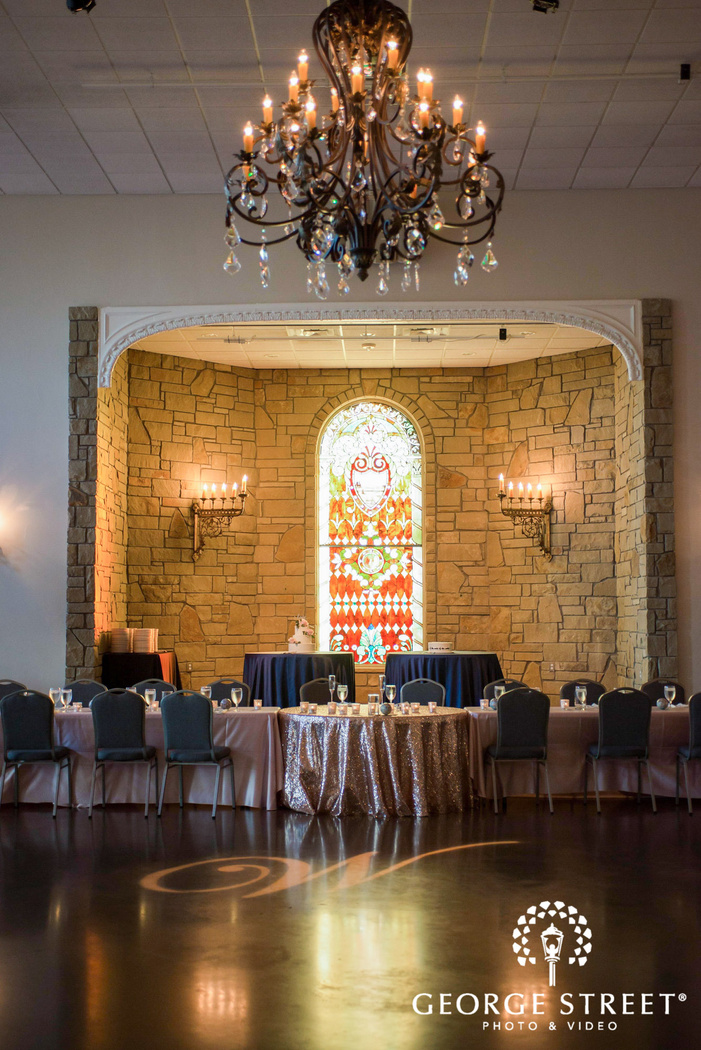 appealing reception venue at villa st  clair in austin