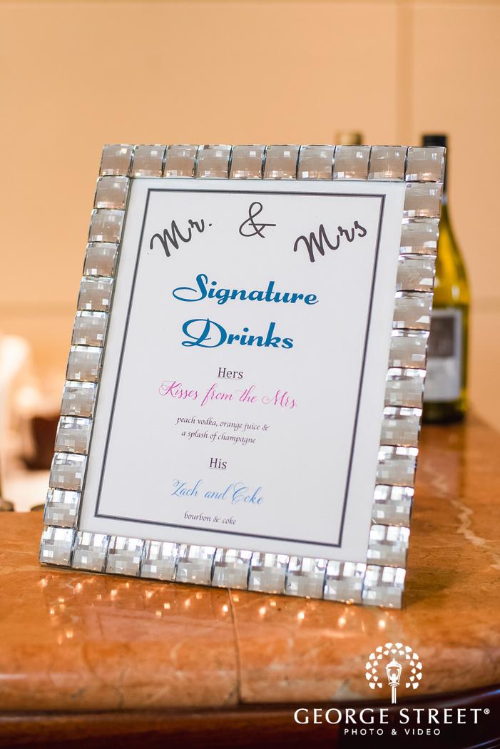 elegant wedding details wedding photo