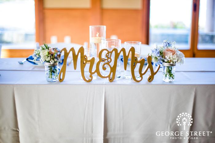 coronado community center san diego bride and groom reception table setting details wedding photos