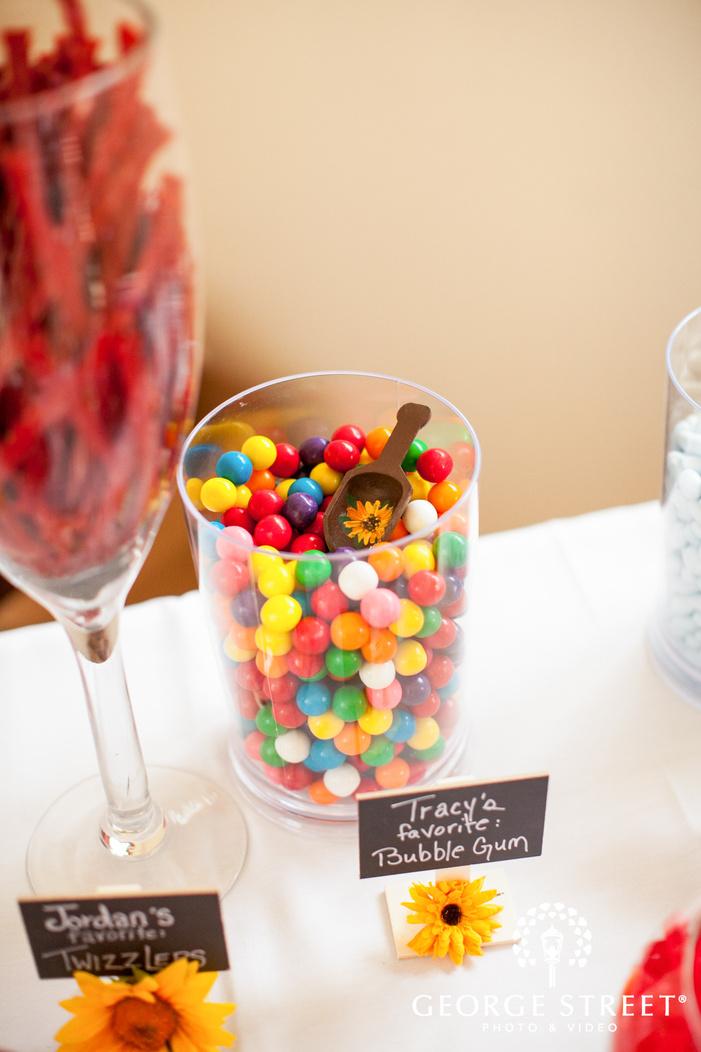 pickering barn seattle wedding candy dessert table inspiration