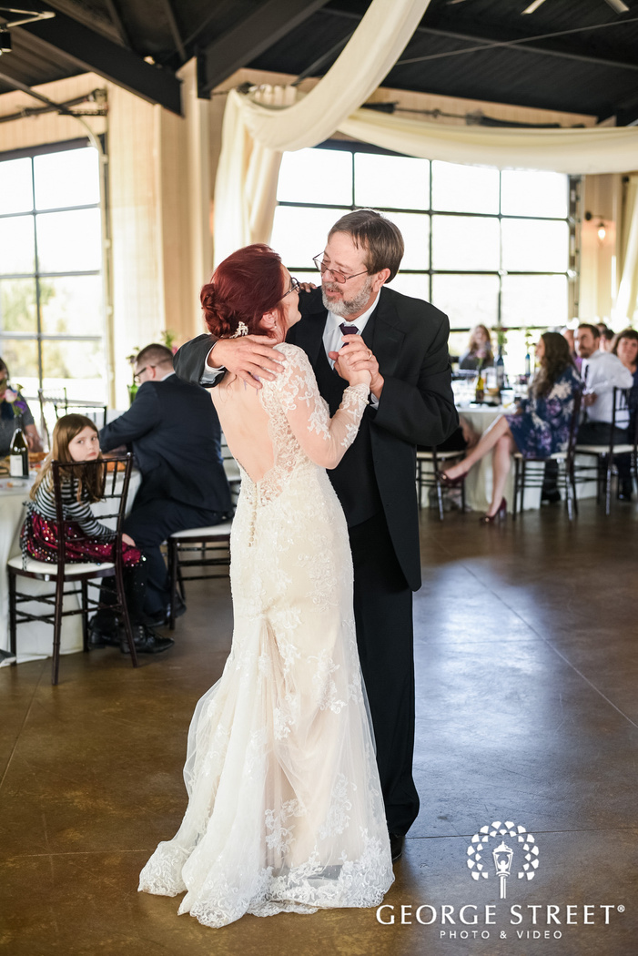adorable bride and father reception dance wedding phorography