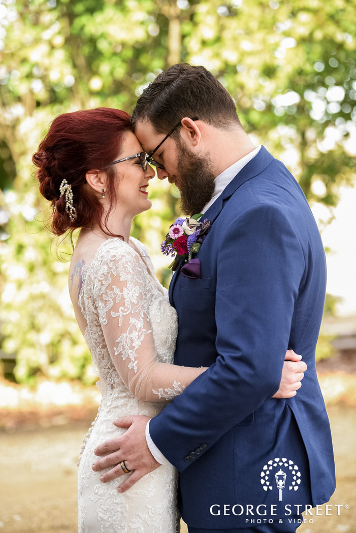 adorable bride and groom wedding phorography