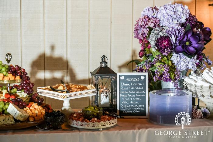 delightful reception dessert wedding photography
