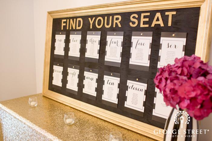 diy wedding seating arrangement