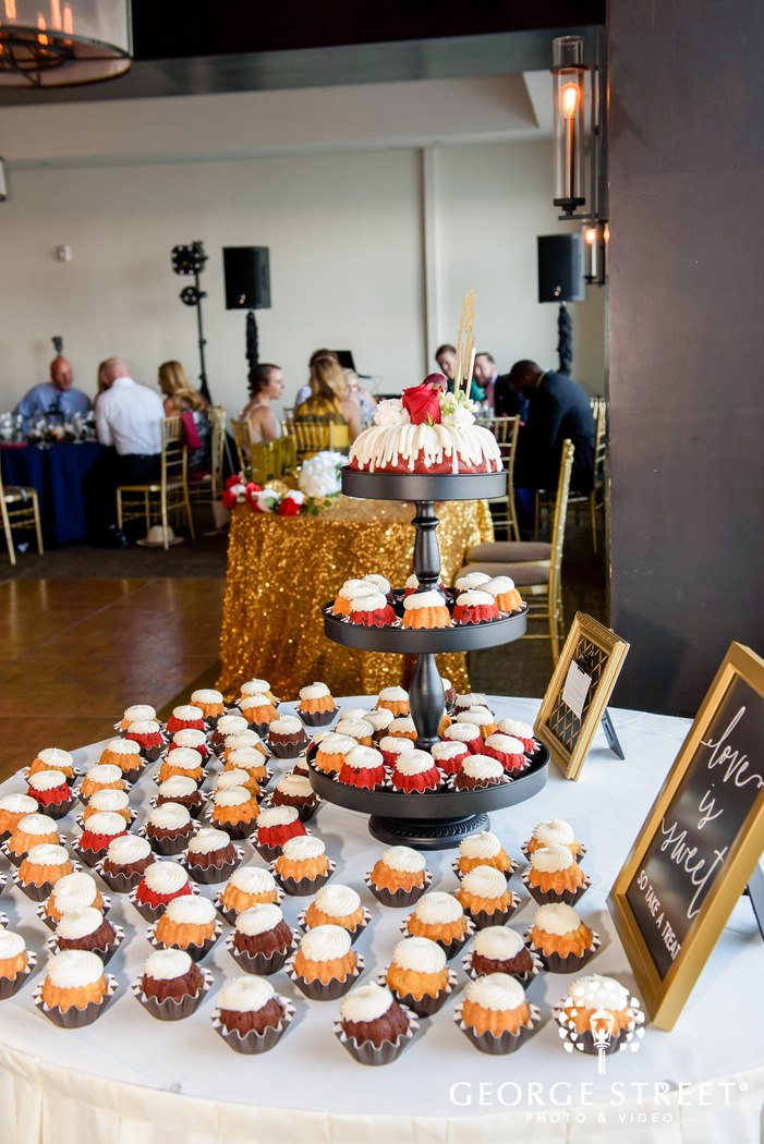 delicious wedding cake and desserts reception details wedding photo