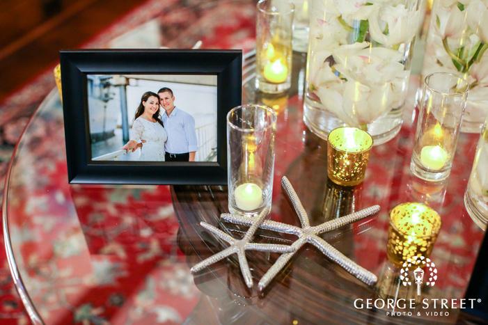 belo mansion dallas starfish wedding details table settings